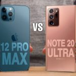 iPhone 12 Pro Max vs. Samsung Galaxy Note 20 Ultra