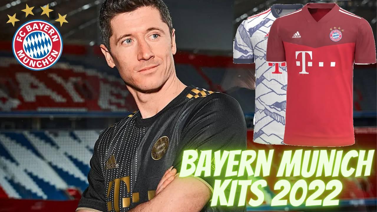 Bayern Munich Kits 2022 for DLS 21 FTS