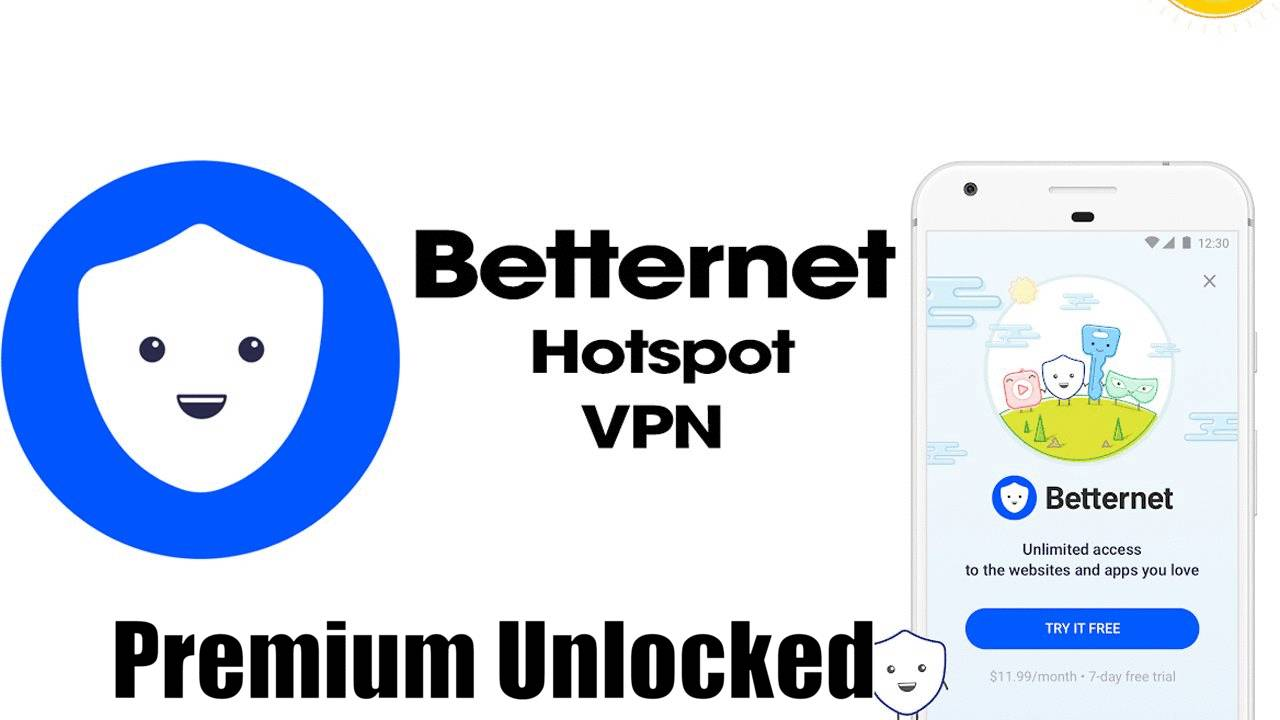 Betternet VPN Premium Mod APK Unlocked Download