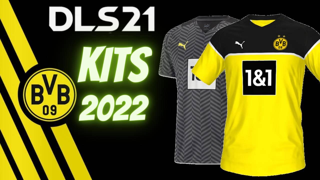 Borussia Dortmund Kits 2022 for DLS 21 FTS