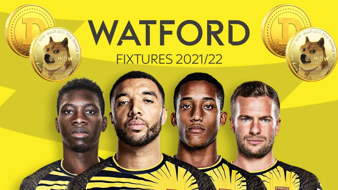 England Premier League Team Watford FC To Wear Dogecoin Shirts for 2022 Season