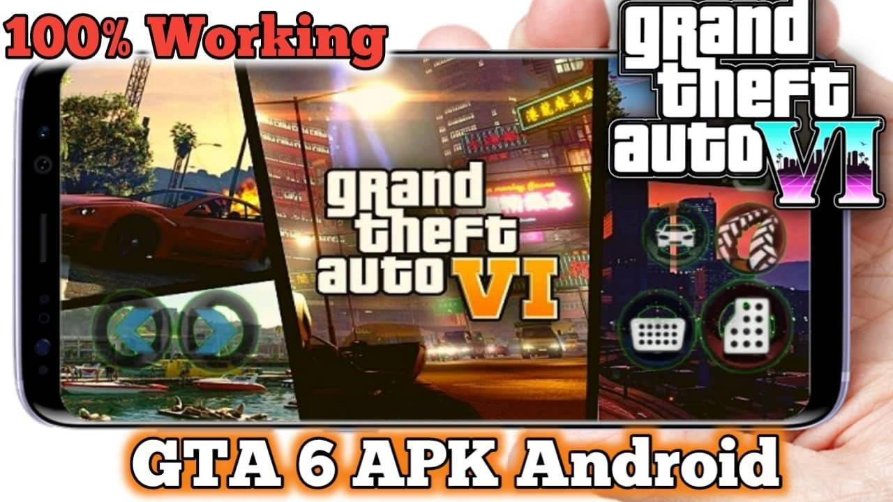 GTA 6 Android Highly Compressed Download