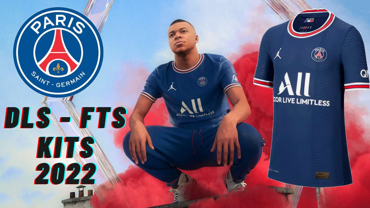 PSG Kits 2022 for DLS 21 FTS