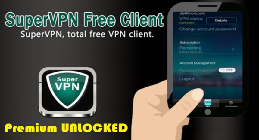 SuperVPN APK Premium Unlocked Download