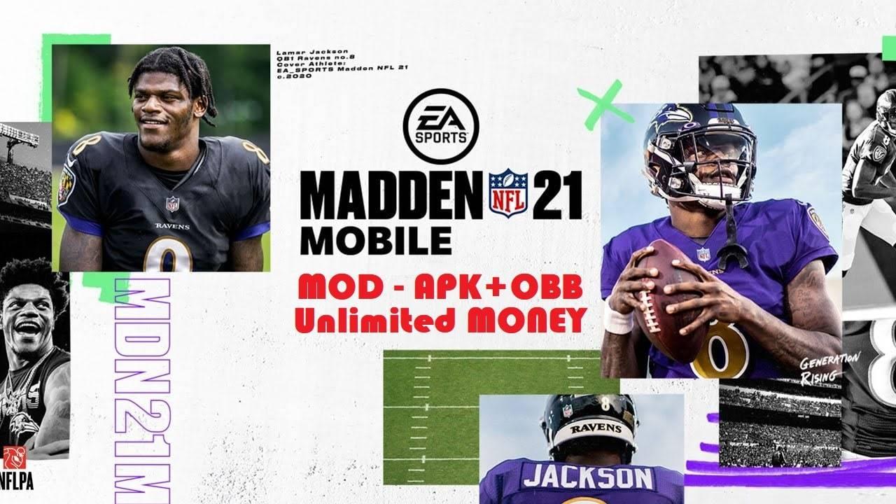 Madden NFL 21 APK Mod Money Download