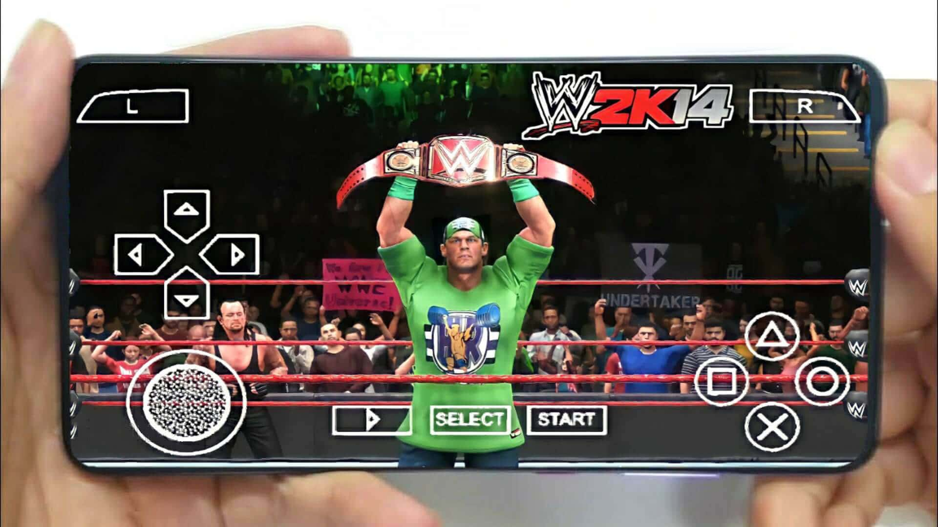 WWE 2K14 iSO PPSSPP for Android Download